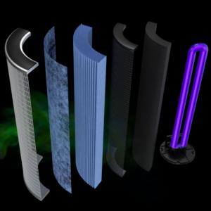 Dentair Filtersystem Grafik