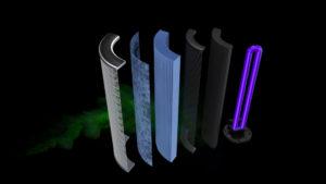 Filterstufen dentair Raumluftfilter Explosionszeichnung