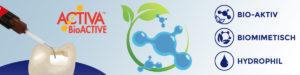 Pulpdent Activa BioActive News Header